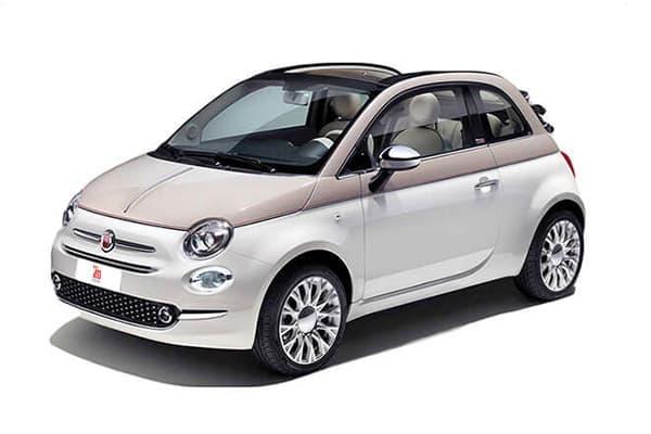 L.   Fiat 500c  convertible