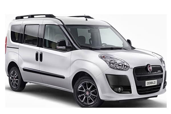 F.   Minivan Fiat Doblo 7 seats