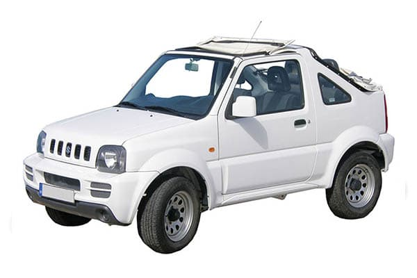 E.   Suzuki Jimny 4x4 Full open (previous model)